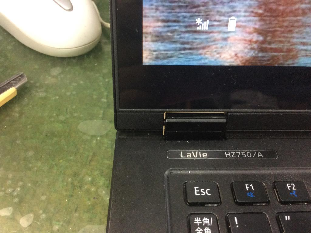 NECPC-HZ750AABの修理の写真0