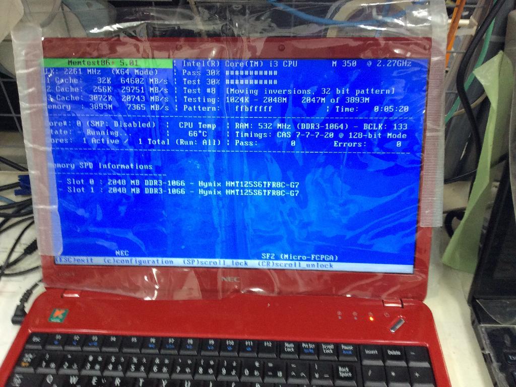 NECPC-LS350BS1TRのSSD交換の写真0