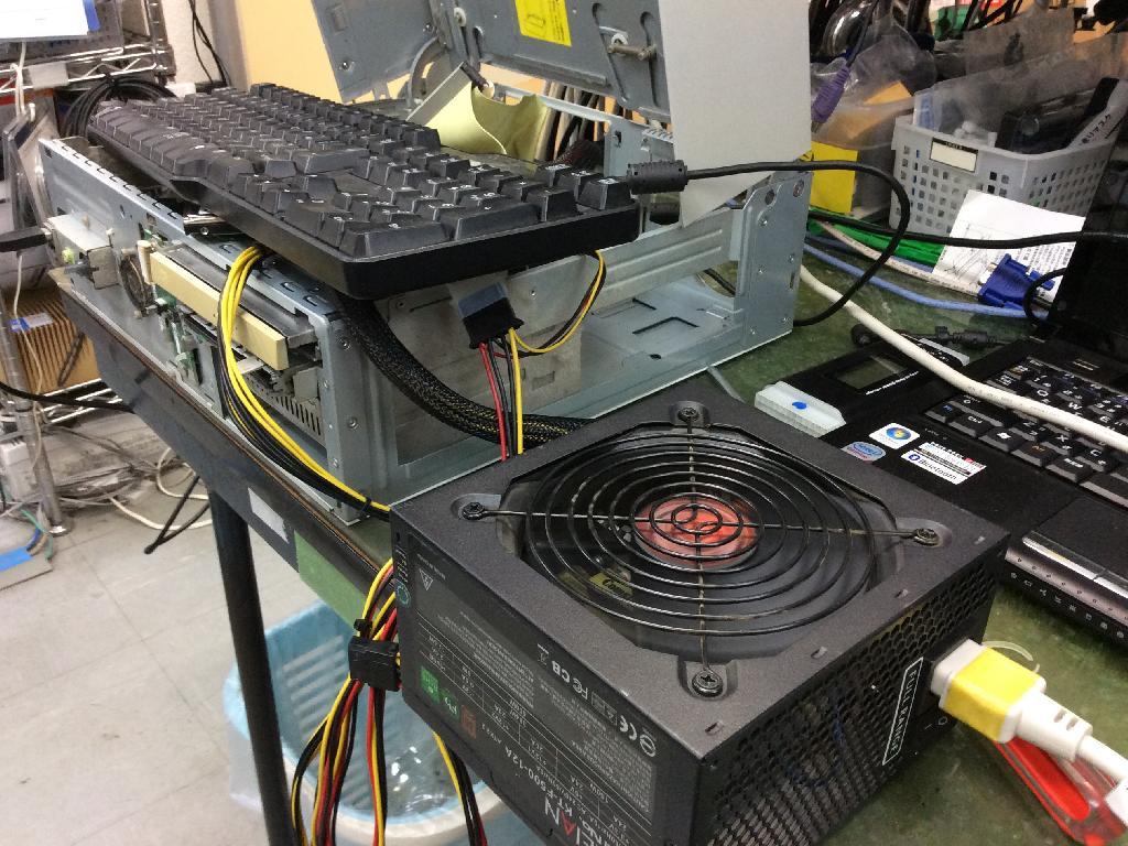 NECPC-MY28YGZZTSBDの旧型PC修理の写真0