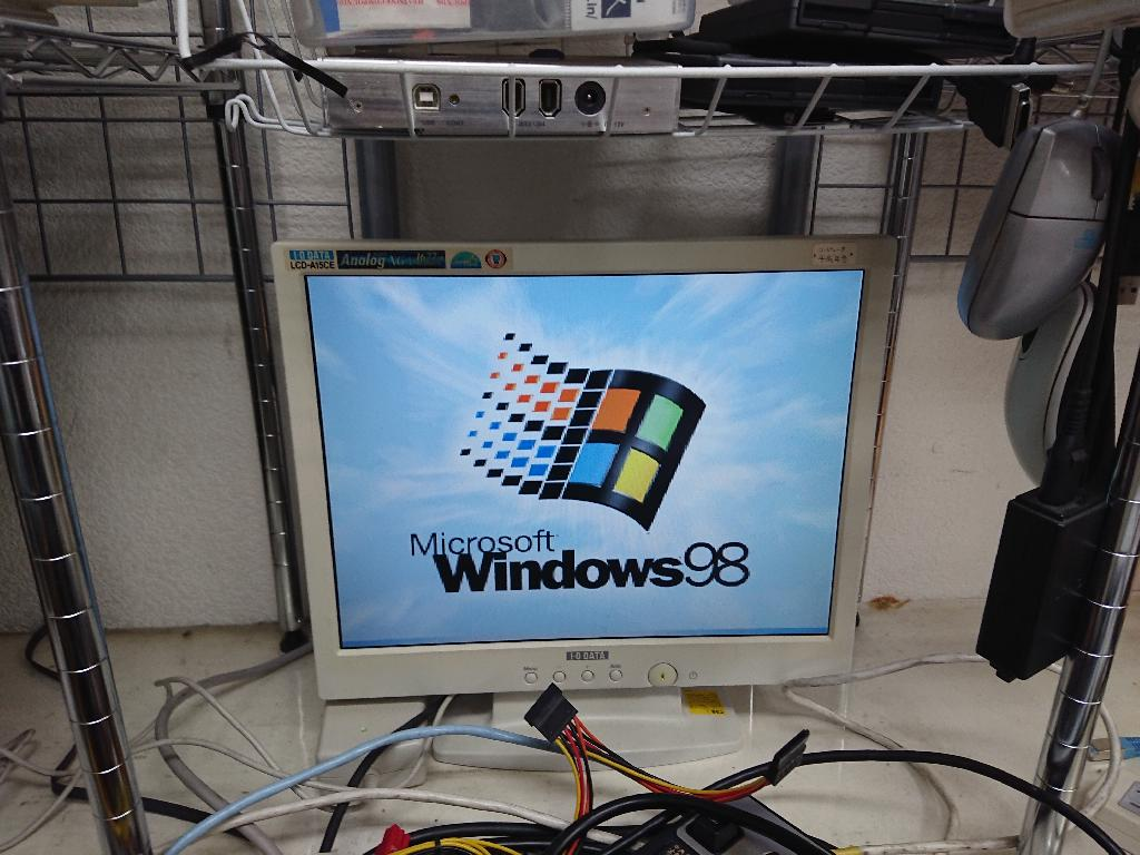 IBMNetVista Type6840-CAの旧型PC修理の写真0