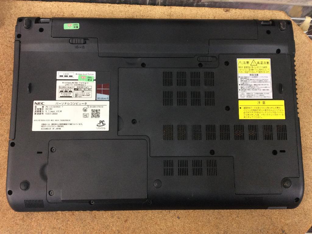 NECPC-LS700RSR-TのPC販売の写真0