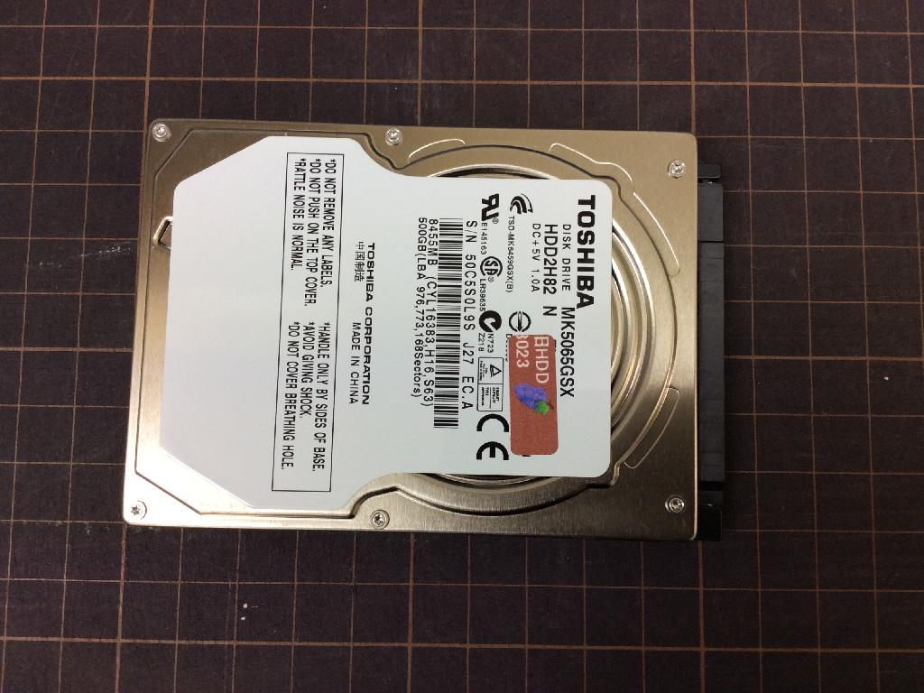 NECPC-LS350BS6WのSSD交換の写真0