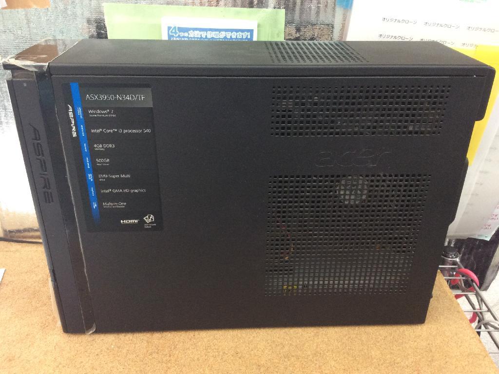 ACERASX3950-N34D/TFの修理の写真0