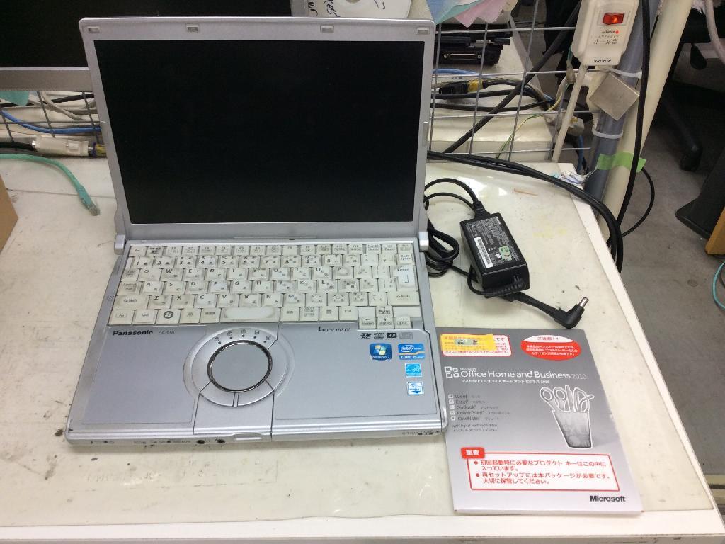 PANASONICCF-S10EYPDRの修理の写真0
