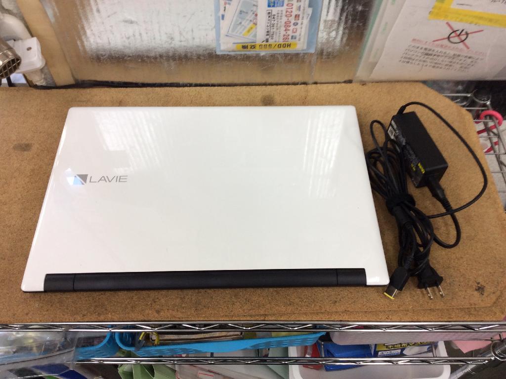 NECPC-GN16CJSA9のSSD交換の写真0