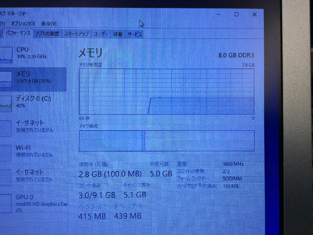 PANASONICCF-SX3EDHCの修理の写真0