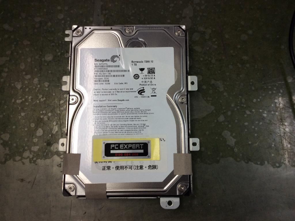 SONYVGC-JS94FSのデータ救出の写真0