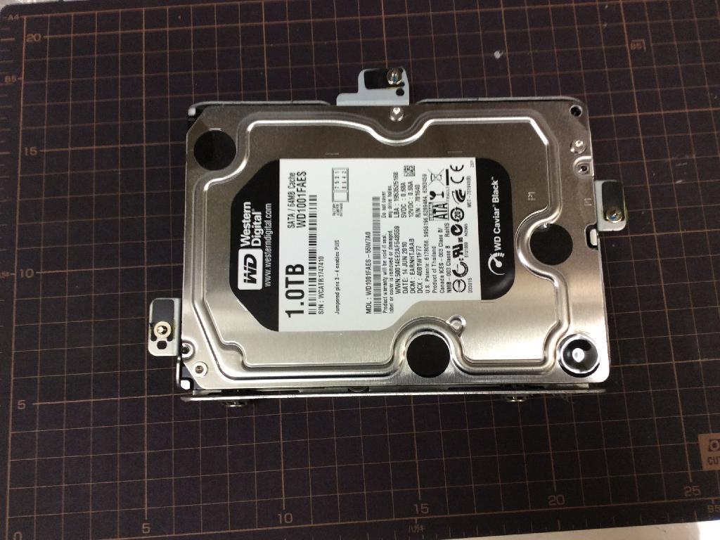 SONYVPCJ129FJのHDD交換の写真0
