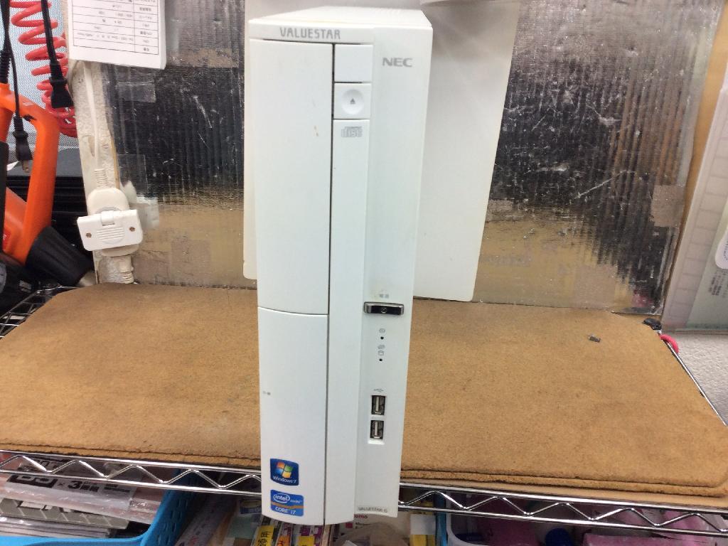 NECPC-GV287UZGNの修理の写真0