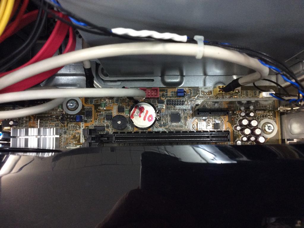 HPPavilion Elite HPEの修理の写真