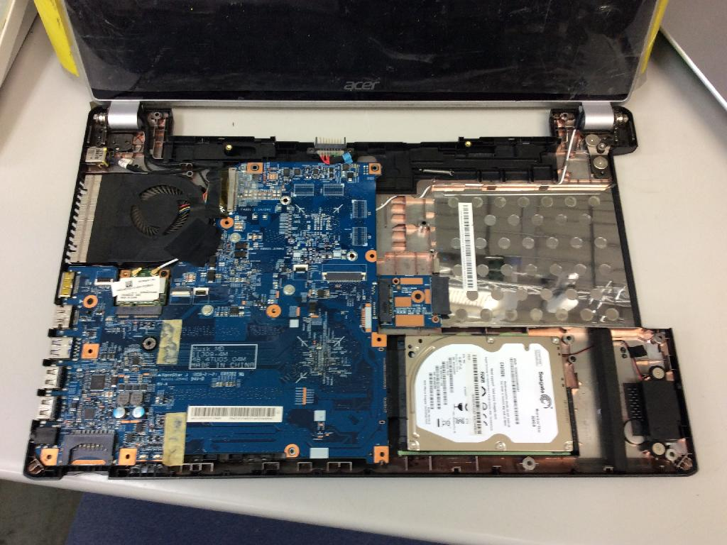 ACERAspire V5-531のデータ救出の写真0