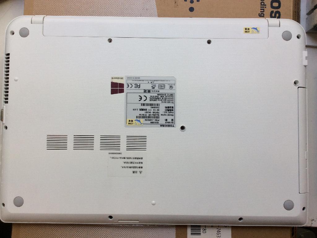 TOSHIBAEX/35MWのSSD交換の写真0