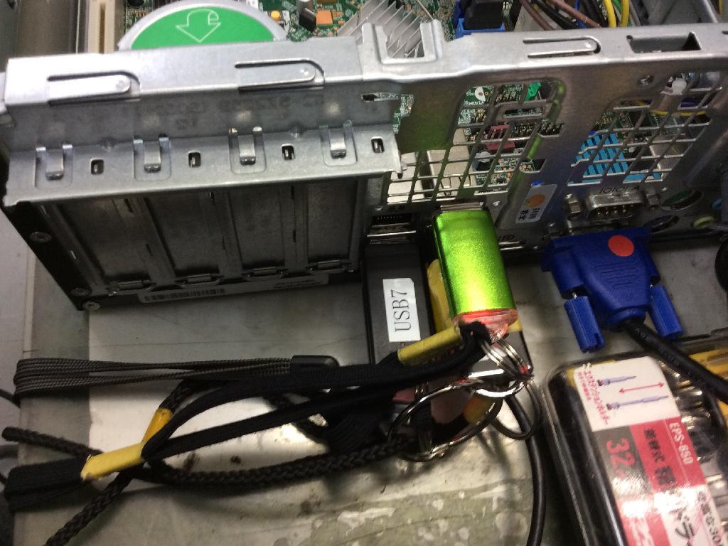HPCompaq6200 Pro SFFの修理の写真0