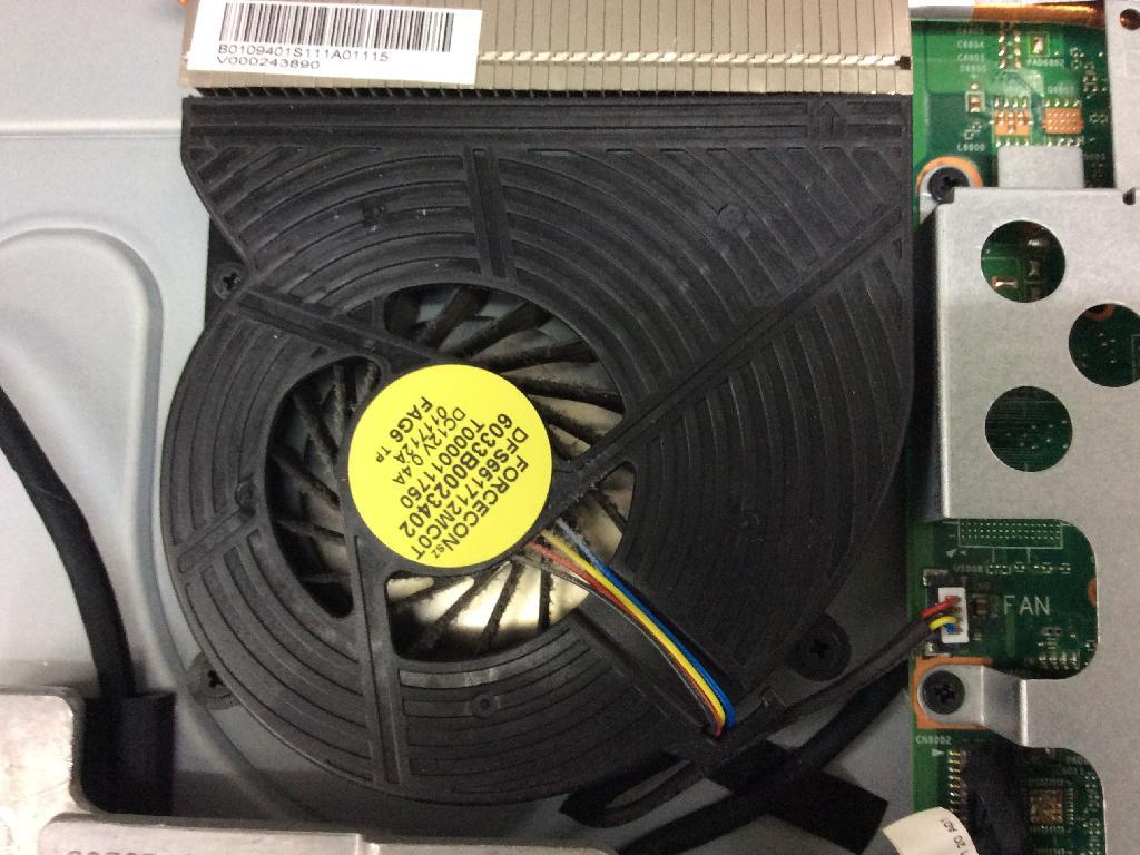 TOSHIBAREGZA D731/T7ERのSSD交換の写真0