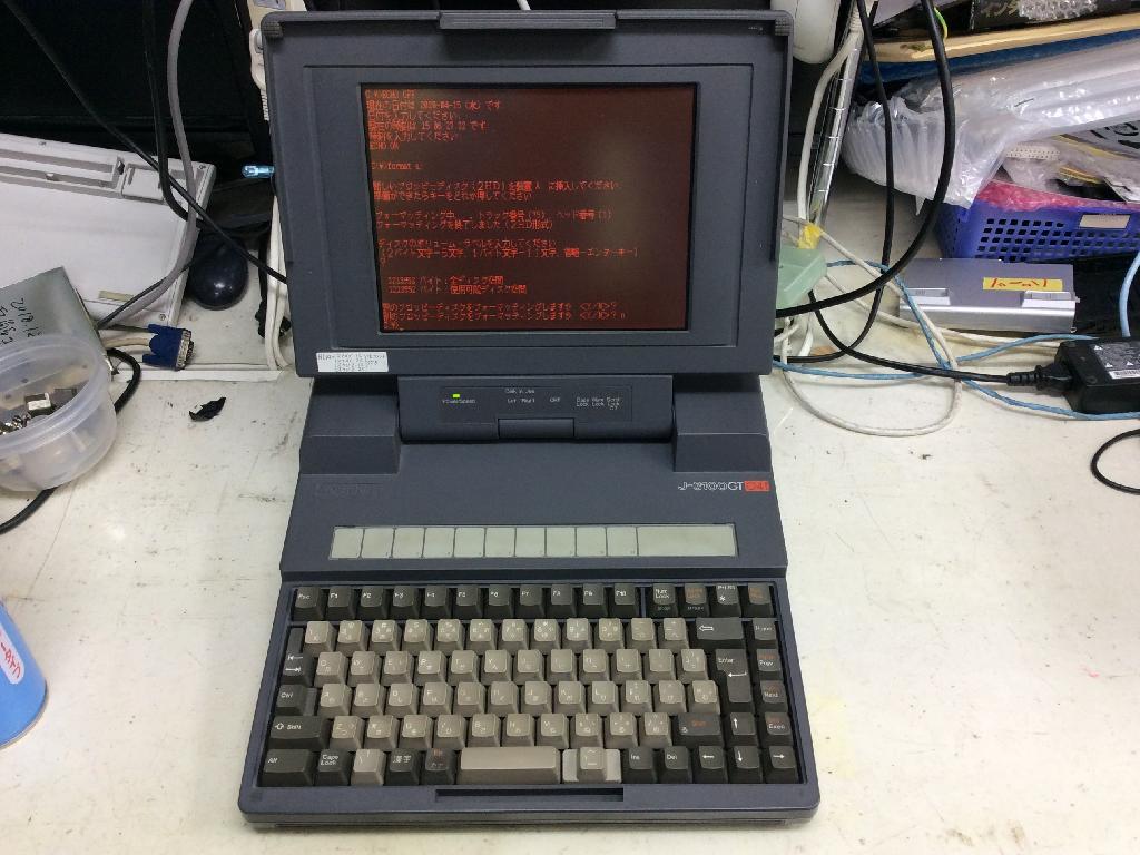 TOSHIBAJ-3100GTSXの旧型PC修理の写真