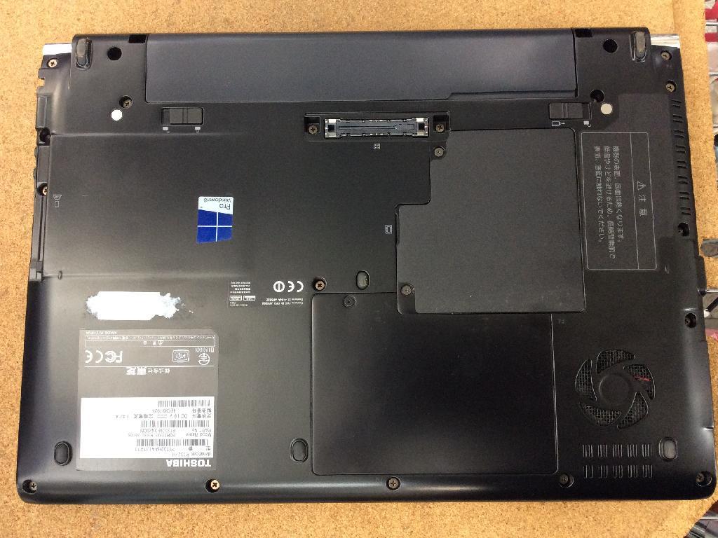 東芝dynabook R732/Hの修理の写真