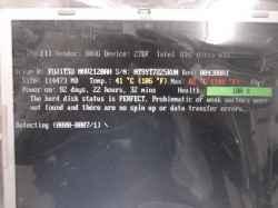PANASONICCF-W5MWVAJPのSSD交換の写真
