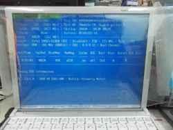 PANASONICCF-W7BWHAJRのSSD交換の写真