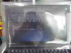 PANASONICCF-SX2CEQBRのSSD交換の写真