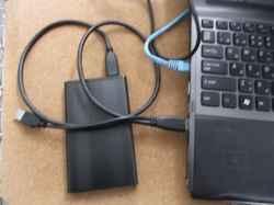 SONYVPCF12AFJのSSD交換の写真