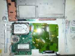 工人舎SR8KP06FのSSD交換の写真