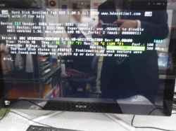 SONYSVL24149CJBのSSD交換の写真