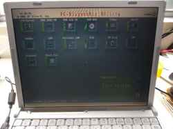 PANASONICCF-W7DWPAJSのSSD交換の写真