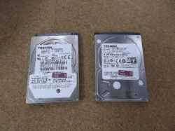 TOSHIBAQosmio V65/86LBIのHDD交換の写真