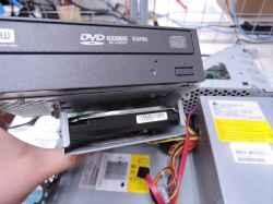 FUJITSUdh500/2aのHDD交換の写真