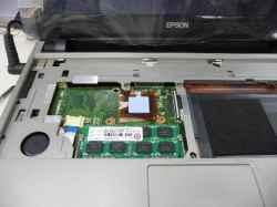 EPSONEndeavor Na14SのSSD交換の写真