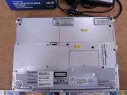 PANASONICCF-S10AWHDSのSSD交換の写真