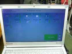 PANASONICCF-SX4HDPWRのSSD交換の写真