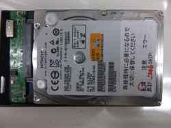 PANASONICCF-SX1GDHYSのHDD交換の写真