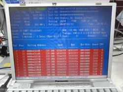 PANASONICCF-T2のSSD交換の写真