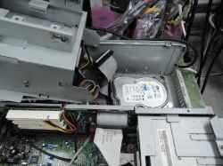 IBM300PL type6862-W8Jの旧型PC修理の写真