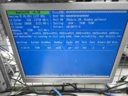 PANASONICCF-W2FW6AXSのHDD交換の写真