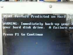 NECVJ22MA-9のHDD交換の写真