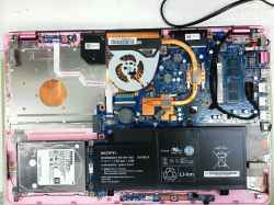 SONYSVF15AA1CNのSSD交換の写真