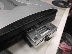 PANASONICCF-18FW1AXSのHDD交換の写真