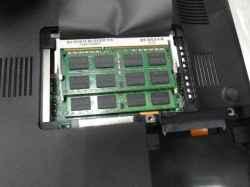 SONYVPCCB28FJのSSD交換の写真