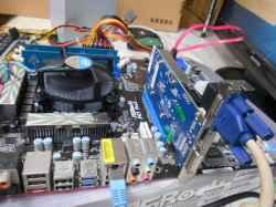EPSONVD516SRの旧型PC修理の写真