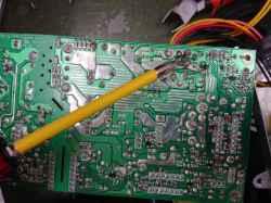 FUJITSUFMVD92D011の修理の写真