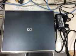 HPCompaq nx6320の修理の写真