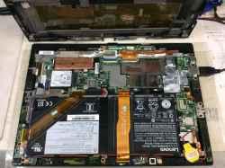 LENOVOx1 tabletの修理の写真