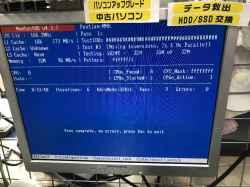 TOSHIBAEQUIUM PV10JT                                                                                    EQUの旧型PC修理の写真