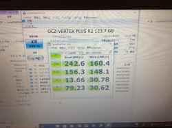 HPCompaq 620のSSD交換の写真