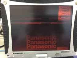 PANASONICCF-19GC1AASの修理の写真