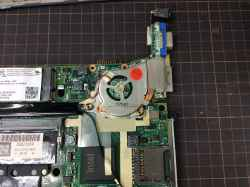PANASONICCF-T7DW6DASの修理の写真
