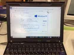 LENOVOX201のSSD交換の写真