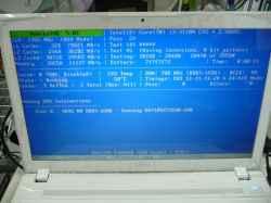 FUJITSULifebook AH45/JのHDD交換の写真